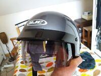 Never worn open helmet for sale