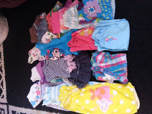 huge lot 6-9 month baby girl clothing