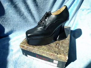 """Demonia Platform Witch shoes with 4 3/4"""" heel"""