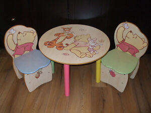 Table et chaises Winnie the Pooh   450-994-2242