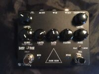 Keeley Dark Side Workstation pedal. Fuzz, tape delay, phaser, flanger, rotary and univibe