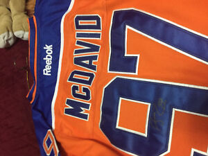Connor McDavid autographed items