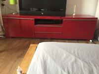 Red TV Unit