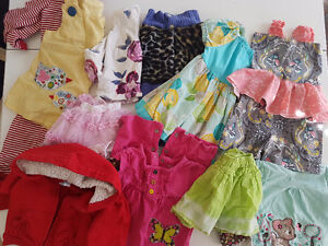 Bag of 6-12 month baby girl clothes