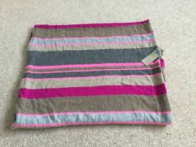 100% pure cashmere scarf brand new with tags from M&S
