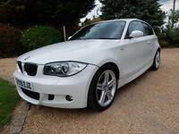 CHEAP CAR - 2009 09 BMW 1 SERIES 2.0 118D M SPORT 3D 141 BHP DIESEL