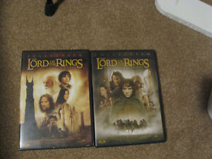 DVD's - Lord of Rings - Merlins - Clash of the Titans