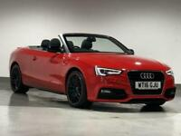 2016 Audi A5 2.0 TDI 177 S Line Special Edition Plus 2dr CONVERTIBLE Diesel Manu