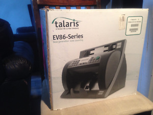Canadian MoneyCounter - Talaris EV8650 WILL COUNT NEW POLY BILLS