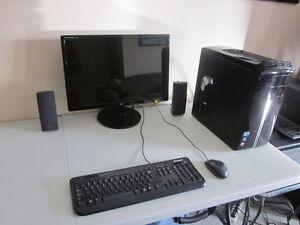 Gaming PC (Intel i5, 8GB RAM , 2GB Video Card, Monitor etc)