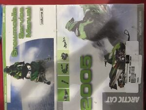 SERVICE MANUAL 05 ARCTIC CAT'S