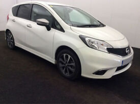 £179.56 PER MONTH 2015 NISSAN NOTE 1.2 N-TECPETROL MANUAL HIGH SPEC