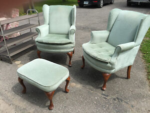 Chairs and foot stool Peterborough Peterborough Area image 1