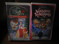 French Christmas VHS Movies