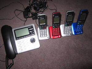 6 Panasonic or Vtech Home Phone Sets with Bluetooth/Link-to-Cell Kitchener / Waterloo Kitchener Area image 6