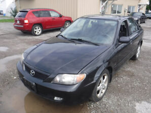 2002 Mazda Protege Sedan ONLY 65000KM ORIGINAL!!!!!!!!!!!