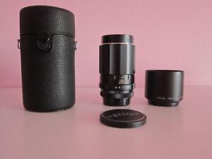 Canon EOS EF: Super-Takumar 150mm f4 Manual Focus Lens