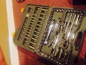 Master craft maximum wrench an socket set