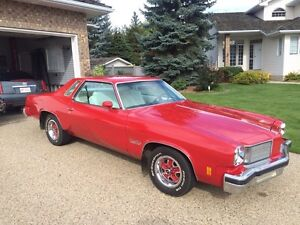 Oldsmobile coupe red buy or sell classic cars in canada for 1975 oldsmobile cutlass salon for sale