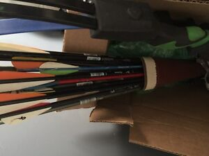 Refurbished compound bow and arrows Christmas package
