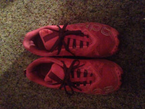 Neon Pink Trail Adidas Running Shoes