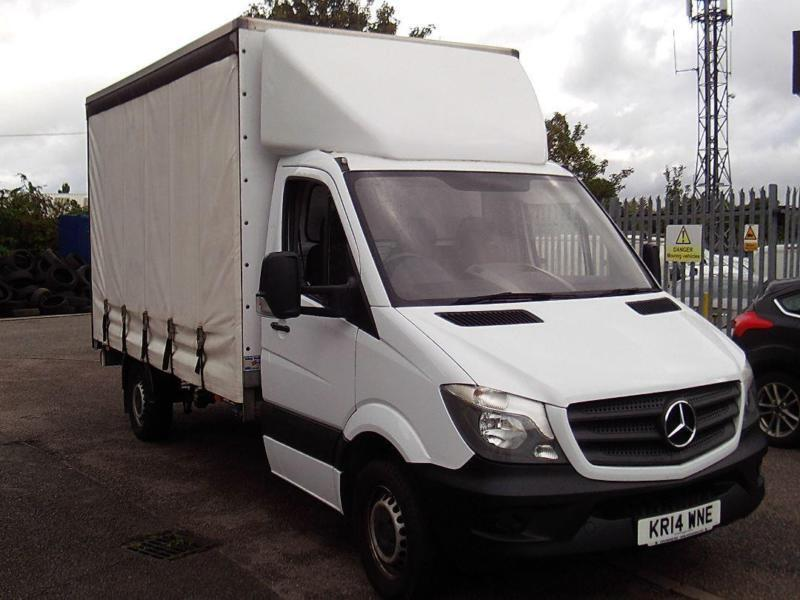 5db79d5551 Mercedes-Benz Sprinter 3.5T Chassis Cab DIESEL MANUAL WHITE (2014)