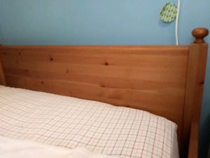 Ikea convertible bed and dresser