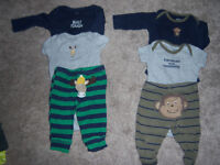Carter's boys 3-6 month lot
