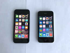 16GB iPhone 5 and 32GB iPhone 4 w/ accessories - WILL NEGOTIATE!