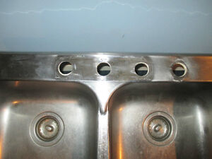 Double Stainless Steel Sink Kitchener / Waterloo Kitchener Area image 3