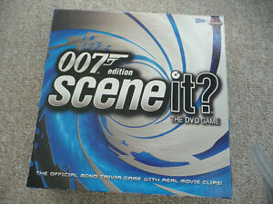 """Scene It?"" DVD Board Game - 007 Edition"