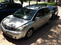 2007 Nissan Quest- With/ Safety and Emissions- new brakes
