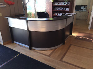 New Reception Desk