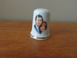 Various Royal Family China Thimbles