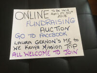 Online Fundraising Auction