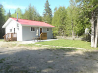 Fully furnished House and Garage on 100acres on Manitoulin Is
