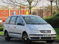 Volkswagen Sharan 2.0 2002MY 7 Seater S ..BARGAIN PX TO CLEAR - MOT FEB 2018