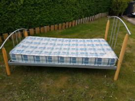 Single bed (£25) + Mattress (free)