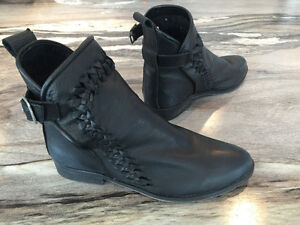 Free People Leather Ankle Boots