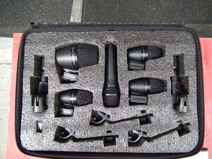 Shure 7 Seven piece drum mic set