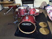Mapex V Series Drum Kit - Red