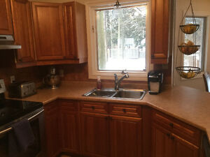 Solid Cherry Cabinets-Best Offer