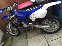 Road legal yamaha Yz 125 , cr kx crf kxf ktm