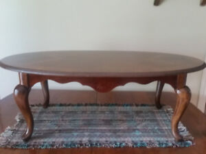 Solid C1940's Walnut Coffee Table For Sale