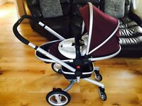 Silvercross pram and car seat bundle
