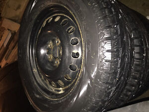 235 65 R17 winter tires brand new
