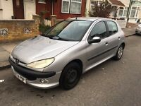Peugeot 206 cheap insurance, low tax Automatic BARGAIN