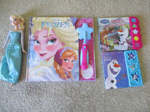 Disney Frozen sound books and doll