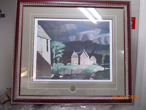 Print, Passing Storm, A.J.Casson, Group of Seven