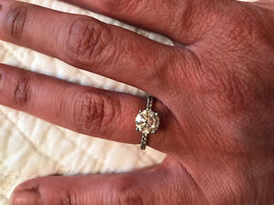 1.41 C Hearts & Arrows Custom Designed Solitaire Engagement Ring